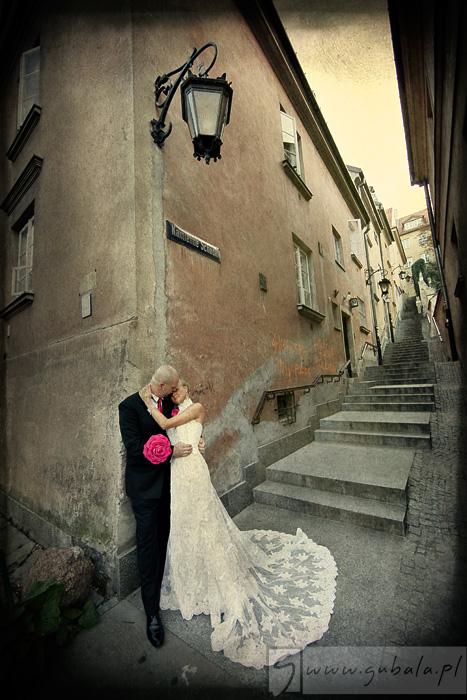 gosia darek ślub warszawa plener stare miasto